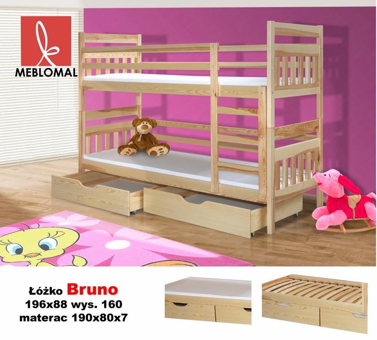 łóżko Piętrowe Bruno